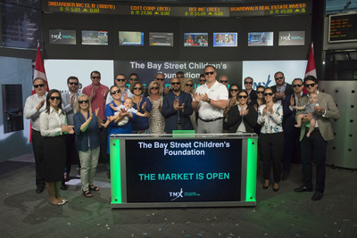 The Bay Street Children's Foundation Opens the Market (CNW Group/TMX Group Limited)