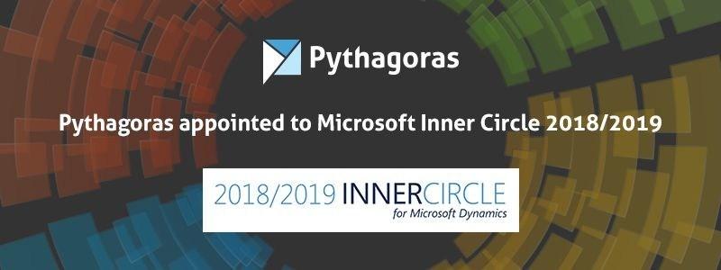 Pythagoras appointed to Microsoft Inner Circle 2018/2019 (PRNewsfoto/Pythagoras)