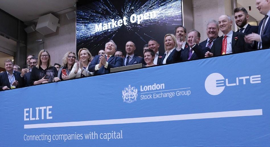 Crossflow Opening London Stock Exchange Market under Elite Program