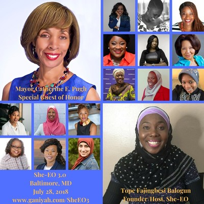 Registration is open for She-EO's July 28th conference, which will be held at the John and Frances Angelos Law Center at the University of Baltimore.