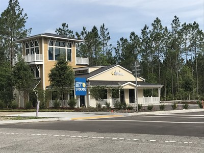 Compass Self Storage has opened their newest state-of-the-art self storage center on Preservation Trail in Ponte Vedra, FL.