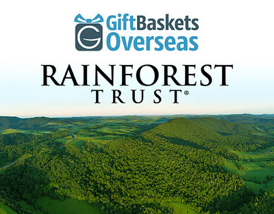 GiftBasketsOverseas.com & Rainforest Trust make giving gifts a planet-saving gesture