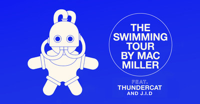 MAC MILLER ANNOUNCES FALL 'THE SWIMMING TOUR' WITH THUNDERCAT AND J.I.D.