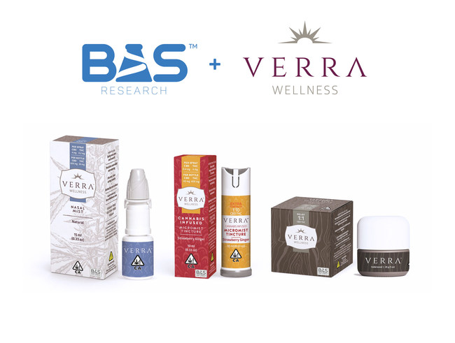 BAS Research Brings Next Frontier Biosciences Verra Wellness™ Product Lines to California via Exclusive Partnership