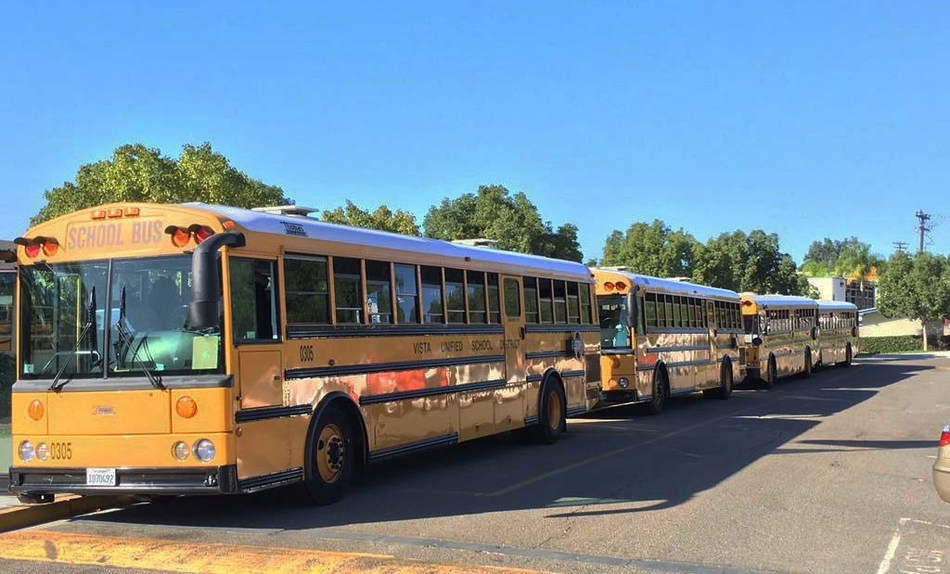 Vista Unified School District, a public school district based in San Diego County, California, has switched its fleet of 53 school buses to run on Neste MY Renewable Diesel™.