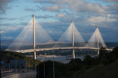 Queensferry Crossing; image courtesy of Transport Scotland.