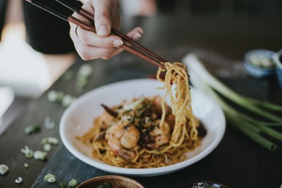 Long Life Noodles & Prawns is one of many entrées you can get for 25 cents on Wednesday, July 25 when P.F. Chang's is celebrating its 25th birthday.