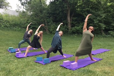 Yoga therapy at Timberline Knolls