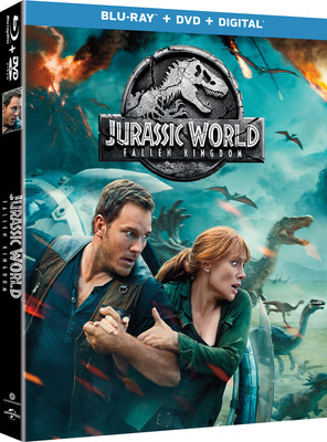 From Universal Pictures Home Entertainment: Jurassic World: Fallen Kingdom