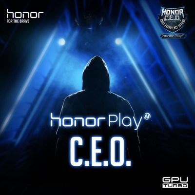 Honor Play lança programa de recrutamento internacional de C.E.O. (PRNewsfoto/Honor)