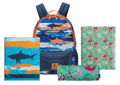The youngest students can bring their stuffed animals to school but, for the rest of us, why not go back-to-school accompanied by a favourite animal-print backpack or accessory – sloths, sharks, and even flamingos. (CNW Group/Staples Canada Inc.)