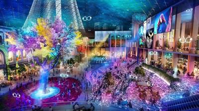 迪拜控股与伊玛尔地产推出迪拜广场 拥抱零售新时代