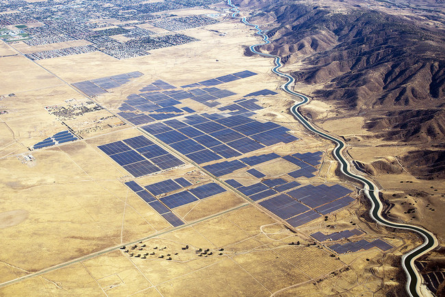 800-acre, combined 168MW DC Solar system built in the City of Lancaster, California.