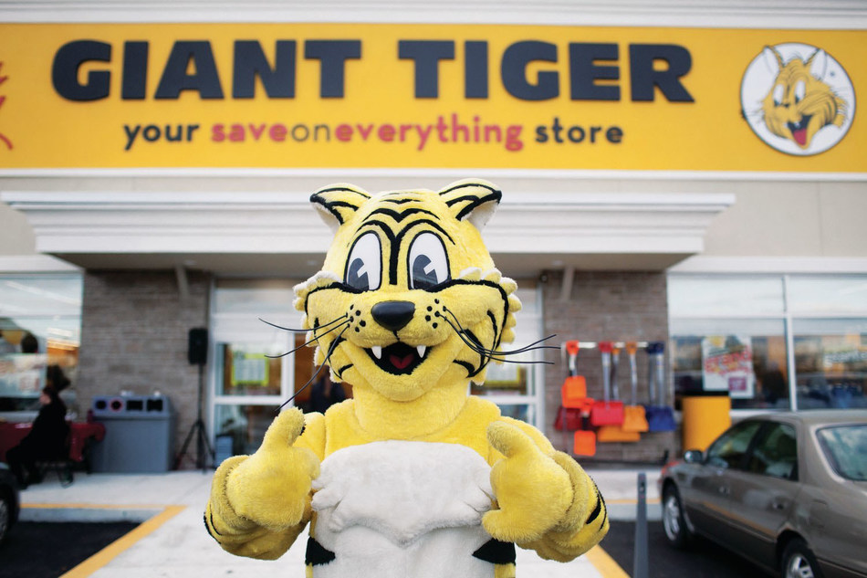 Friendly, the Giant Tiger (CNW Group/Giant Tiger Stores Limited)