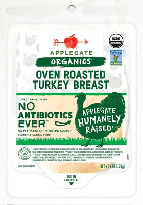 Applegate Organics® Oven Roasted Turkey Breast