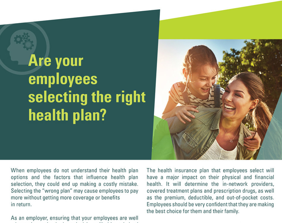 New white paper: Are your employees selecting the right health plan?