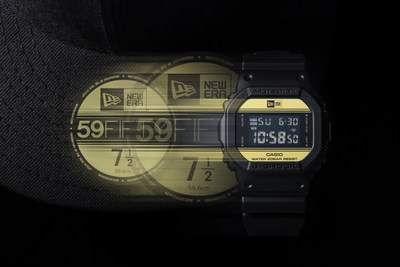 G-SHOCK x New Era DW5600NE-1 model