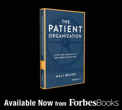 New National Book Release from ForbesBooks author Walt Brown