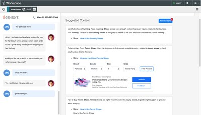 The Genesys integration with Google Cloud's new Contact Center AI enables brands to more quickly and predictively match consumers' requests with the right bot, human or combination thereof – whichever resource is best equipped to resolve the issue and optimize the chosen business outcome(s).