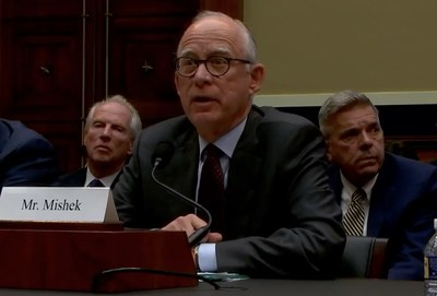 Mark Mishek, president and CEO of the Hazelden Betty Ford Foundation, testified July 24, 2018, in front of the U.S. House Energy and Commerce Committee's Subcommittee on Oversight and Investigations on the need for more oversight in the addiction treatment industry to protect vulnerable people and families suffering from substance use disorders.