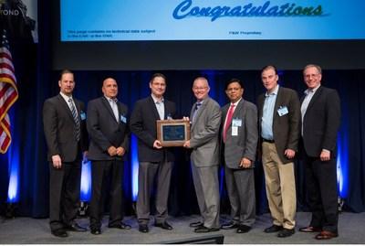 Belcan receives Pratt & Whitney Supplier Productivity Innovation Award.