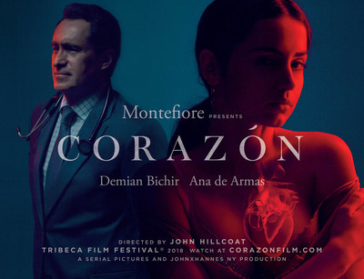 Corazón Movie Poster - JohnXHannes New York's Cannes Lion Grand Prix winning work of 2018. Corazón full film streaming here: https://corazonfilm.com/home