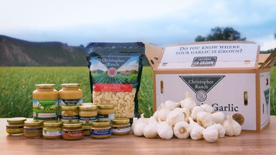 From fresh garlic to peeled garlic to processed garlic, Christopher Ranch offers solutions to all garlic-centric customer needs. Unlike the competition, Christopher Ranch guarantees that all of it's garlic products are sourced from the USA.