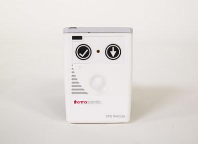 The Thermo Scientific EPD TruDose electronic personal dosimeter