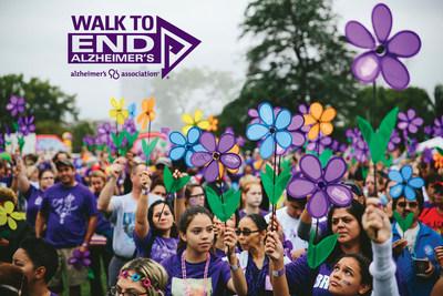 Alzheimer's Association Walk to End Alzheimer's® participants raise critical awareness & funds for Alzheimer's care, support and research.