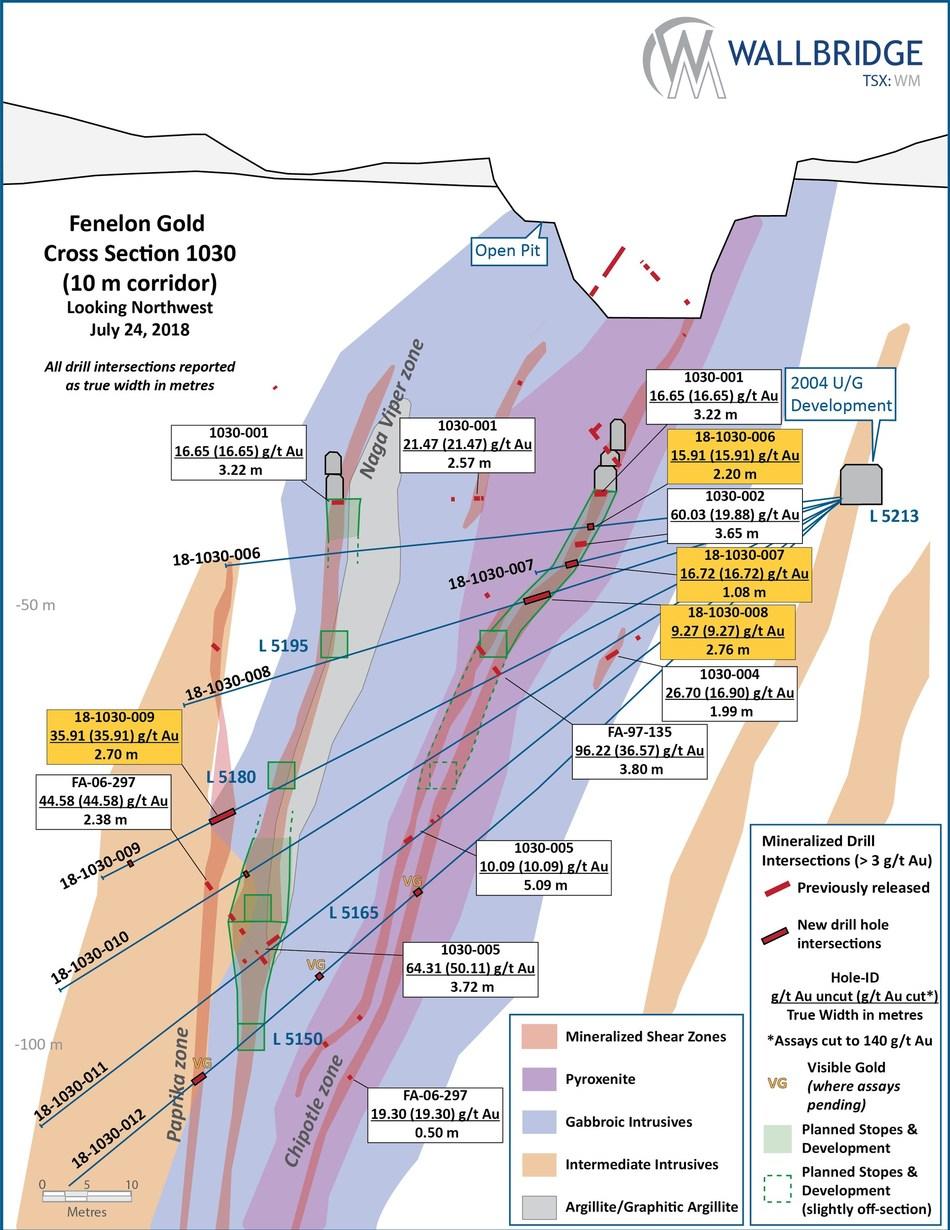 Figure 5 (CNW Group/Wallbridge Mining Company Limited)