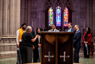 A delegation of government and faith leaders from the United Arab Emirates (UAE) are visiting Washington, DC to highlight the country's efforts to promote tolerance and inclusivity among the 200 nationalities who live and work together there.