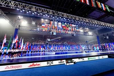 Elementos locais de Wuxi brilham nos Campeonatos Mundiais de Esgrima 2018 (PRNewsfoto/Fencing Championships Organizin)
