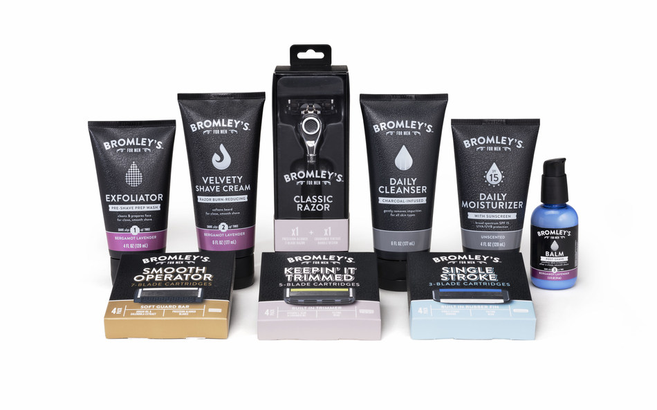 The Kroger Co. launches Bromley's™ For Men shaving and grooming collection.