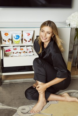 Maria Sharapova featured with her candy line, Sugarpova, at Sanderson London, part of sbe's global hotel portfolio