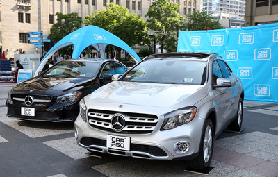 car2go Mercedes-Benz CLA and GLA vehicles ready to hit the streets of Chicago today - Photo Credit: Getty Images