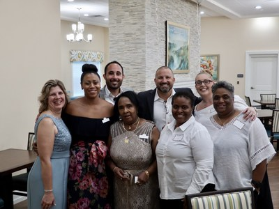 The team of talented associates at Market Street Memory Care Residence Palm Coast looks forward to welcoming new residents to the Market Street family!
