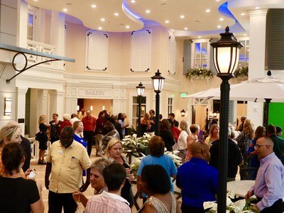 Over 200 community leaders, local residents and business professionals celebrated the grand opening of Market Street Memory Care Residence Palm Coast with live entertainment, tours and culinary delights.