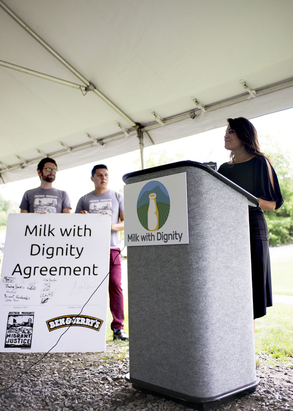 BEN & JERRY'S AND MIGRANT JUSTICE JOINTLY ANNOUNCE GROUNDBREAKING SUCCESS