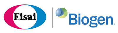 Eisai logo and Biogen logo (PRNewsfoto/Eisai Co., Ltd.)