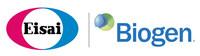 Eisai logo and Biogen logo (PRNewsfoto/Eisai Co., Ltd.)