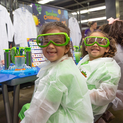 Chicago area foster children receive brand-new toys and enjoy a fun-filled day of play at The Toy Foundation's Play Your Part event held earlier today at Guaranteed Rate Field.
