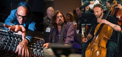 PJ Olsson, Alan Parsons, and Michael Fitzpatrick will all be featured at the Colorado Recording Master Class put on by http://artandscienceofsound.com.