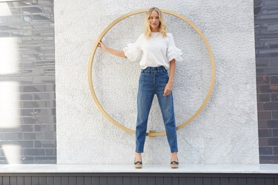 Tencel photo: Model wearing TENCEL™ denim.   TENCEL™ is the textile specialty brand under The Lenzing Group that covers textile specialty product offerings for apparel and home. The TENCEL™ product brand portfolio defines a new evolutionary step in terms of sustainability, functional benefits, natural comfort and caters for distinctive everyday usage or application. Product brands under TENCEL™ includes TENCEL™ Active, TENCEL™ Denim, TENCEL™ Home, TENCEL™ Footwear, TENCEL™ Intimate and TENCEL™ Luxe.