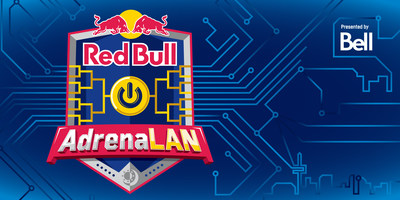 Bell showcases world-class fibre network at Red Bull AdrenaLAN: A weekend-packed video game LAN, hackathon and eSports tournament (CNW Group/Red Bull Canada)