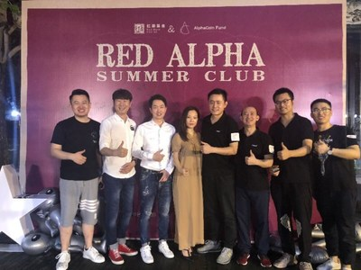 HNB attends the Red Alpha Summer Club reception hosted by AlphaCoin Capital