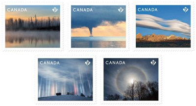 Weather Wonders (CNW Group/Canada Post)