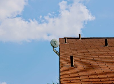 C Spire is using Mimosa Network's hybrid fiber wireless client antennas to connect hub homes and other residences in neighborhoods.  The devices resemble a dinner plate and are about one third the size of a typical satellite dish.