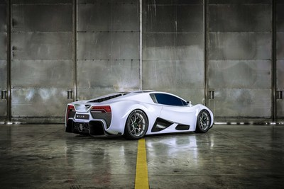 Copyright © MILAN Automotive GmbH, 2018   The MILAN RED from Austrian sports car manufacturer MILAN Automotive,  puts breathtaking 1.325 hp on the streets (PRNewsfoto/MILAN Automotive GmbH)