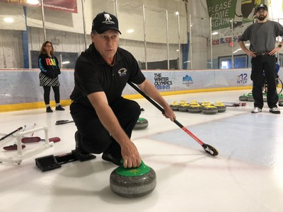 Wounded Warrior Project teamed up with the Jacksonville Granite Curling Club to teach injured veterans about curling. Warriors learned a new sport and connected with other veterans.
