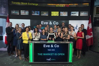 Eve & Co Incorporated Opens the Market (CNW Group/TMX Group Limited)